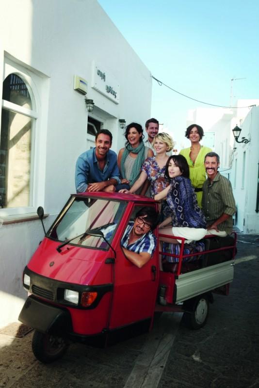 I protagonisti di Immaturi - Il viaggio in una foto promozionale del film