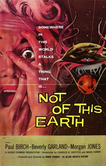 Il vampiro del pianeta rosso: la locandina del film