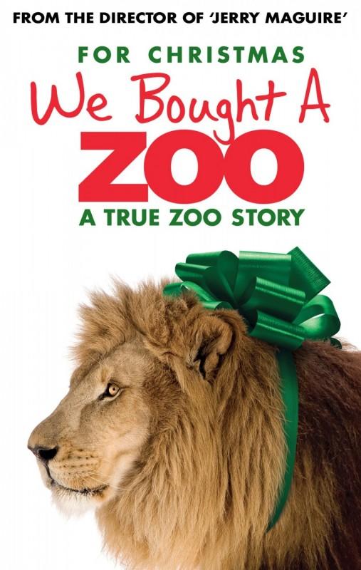 La mia vita è uno zoo: ecco una nuova locandina che vede protagonista un leone in versione natalizia