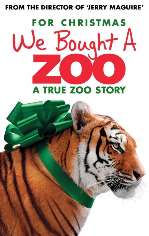 La mia vita è uno zoo: ecco una nuova locandina che vede protagonista una tigre in versione natalizia
