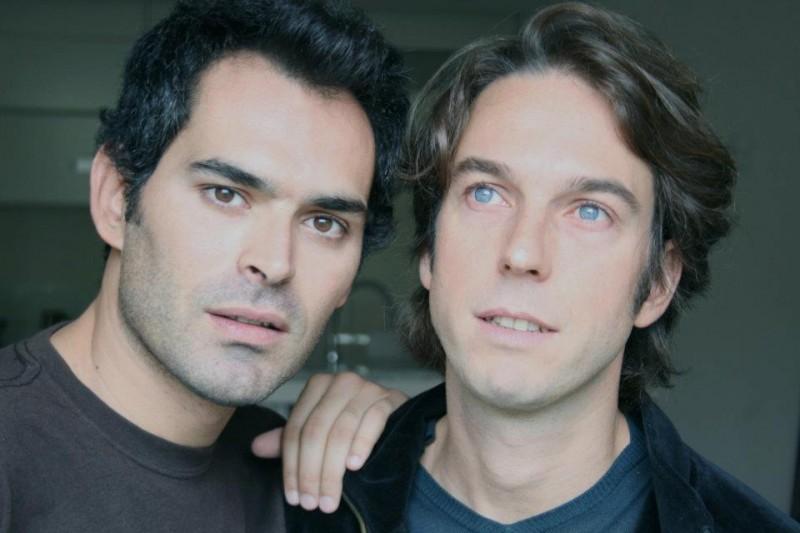 Luca Ragazzi e Gustav Hofer, registi del film Italy: Love It, or Leave It, in una foto promozionale del film