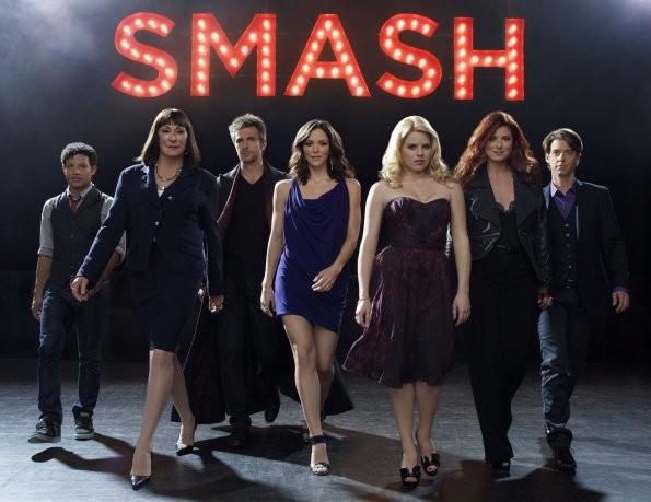 Smash: una foto promozionale del cast della serie