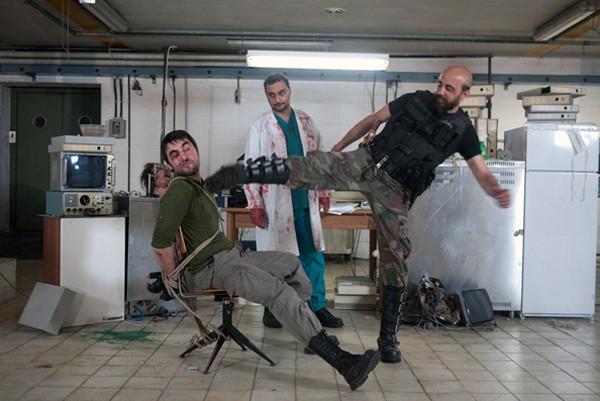 Claudio Marmugi, Guglielmo Favilla e Alex Lucchesi nel laboratorio di Eaters