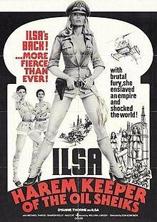 Ilsa - La belva del deserto: la locandina del film