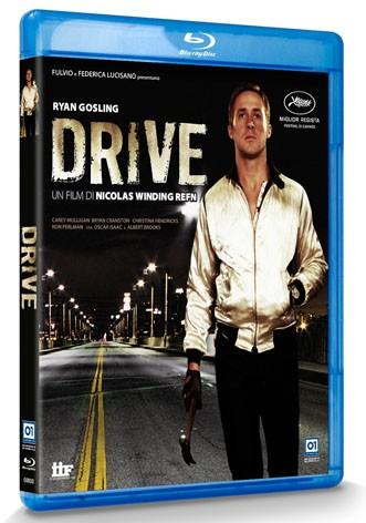 La copertina di Drive (blu-ray)