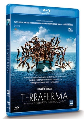 La copertina di Terraferma (blu-ray)