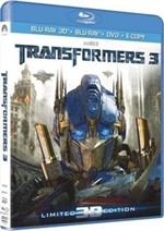 La copertina di Transformers 3 - Limited 3D Edition (blu-ray)