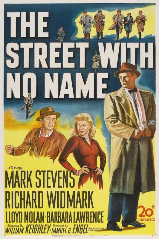 La strada senza nome: la locandina del film