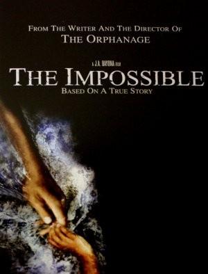 The Impossible: la locandina del film