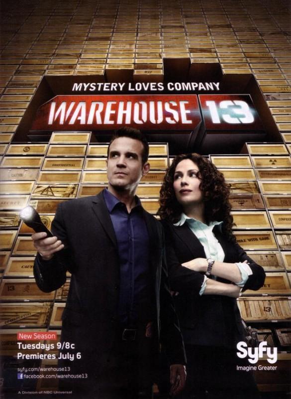 Warehouse 13: un poster della stagione 2