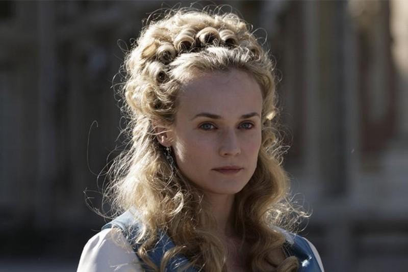 Diane Kruger nel ruolo della regina Maria Antonietta in una scena di Farewell, My Queen