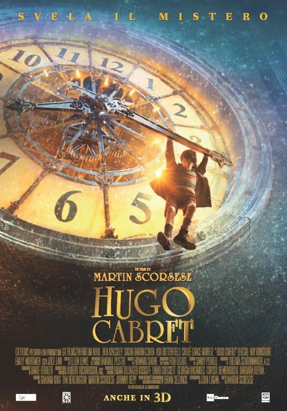 Hugo Cabret 3D: la locandina italiana definitiva del film