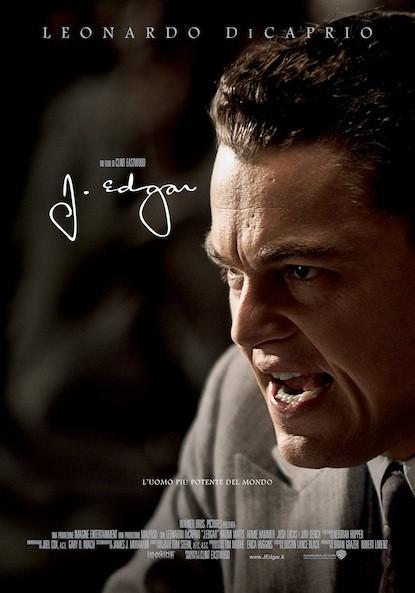 J. Edgar: la locandina italiana