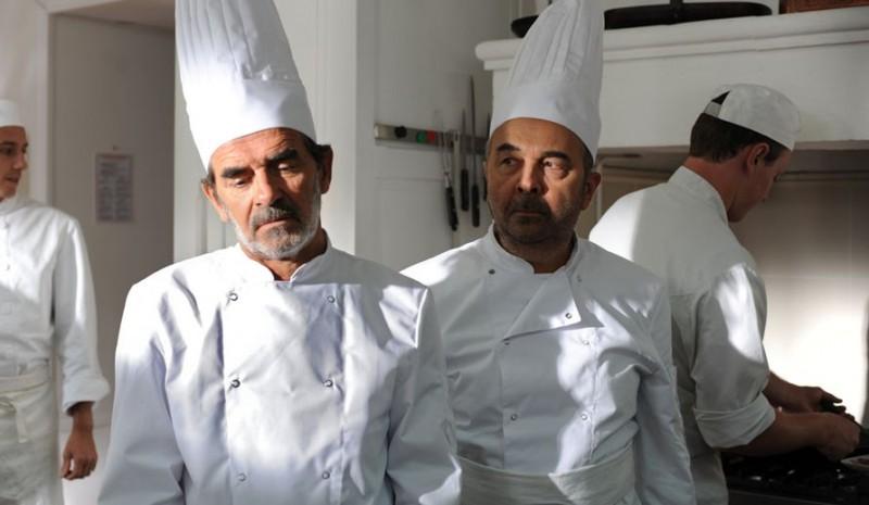 Un jour mon père viendra: Hubert Saint-Macary e Gérard Jugnot in una scena