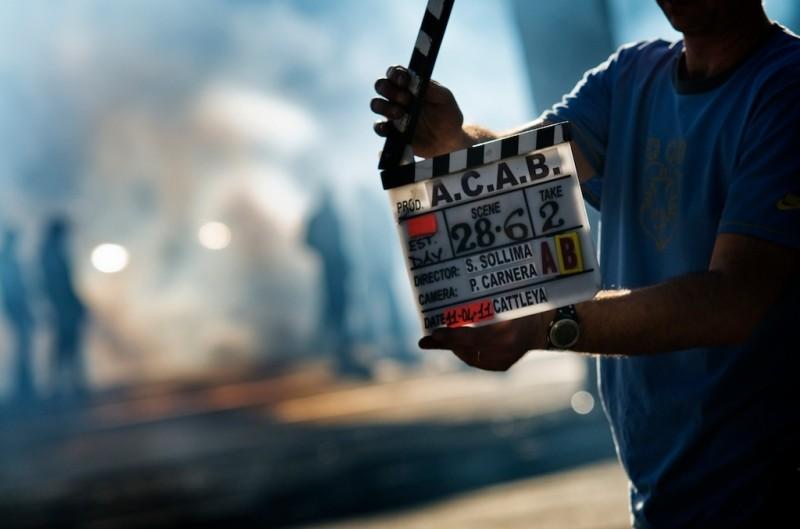 A.C.A.B.: sul set del film tutti pronti per il ciak