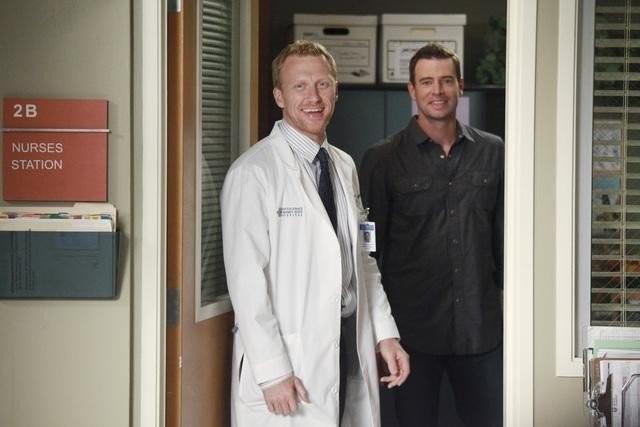 Grey's Anatomy: Scott Foley e Kevin McKidd nell'episodio Put Me in, Coach