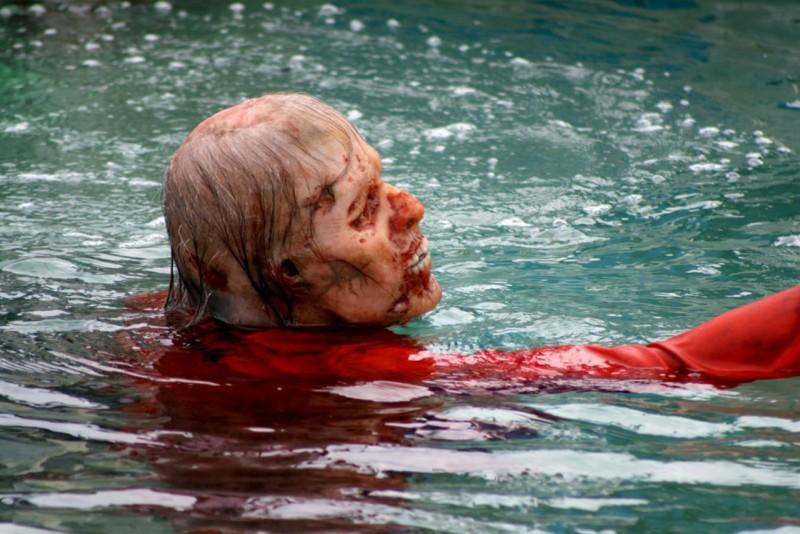 Juan of the Dead: una sequenza splatter del film