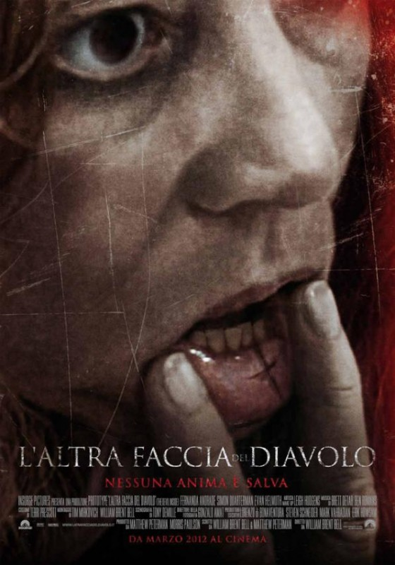 L'altra faccia del diavolo: la locandina italiana del film