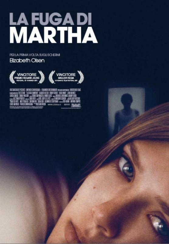 La fuga di Martha, la locandina italiana del film