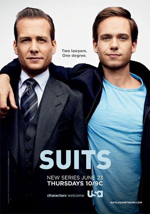 La locandina di Suits