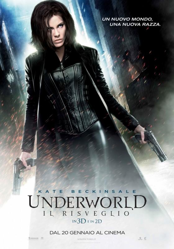 Underworld: il risveglio 3D, la nuova locandina italiana del film