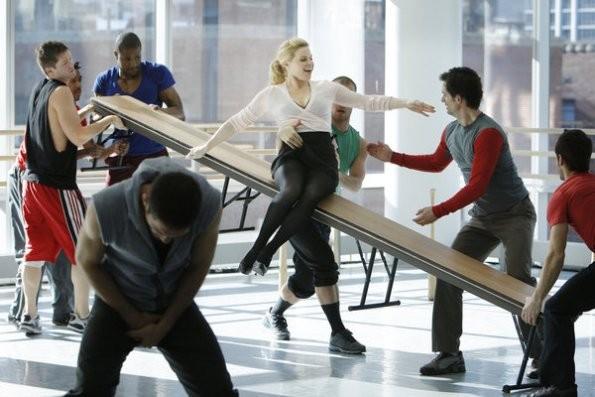 Smash: Megan Hilty in una scena del pilot della serie NBC