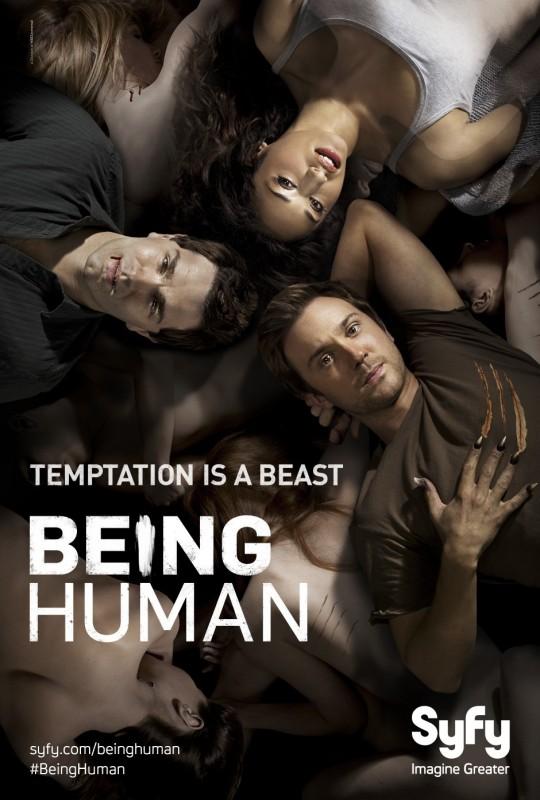 Being Human: un poster della stagione 2 della versione USA
