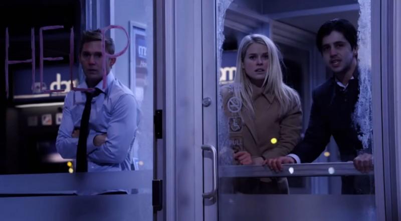 Alice Eve, Brian Geraghty e Josh Peck intrappolati in uno sportello bancario in ATM