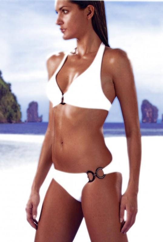 Anna Rigon in uno scatto pubblicitario.