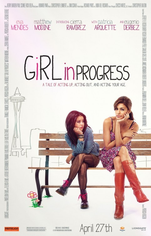 Girl in Progress: la locandina del film