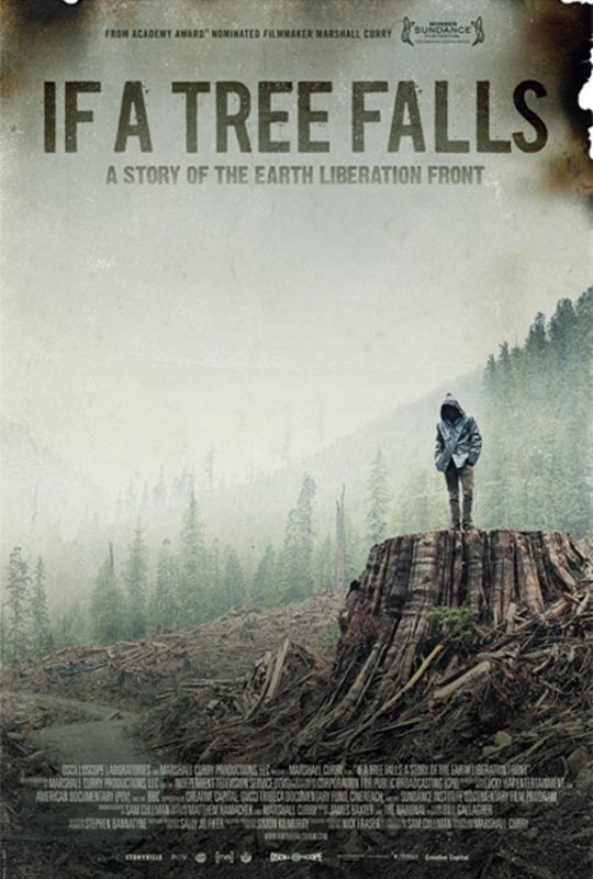 If a Tree Falls: A Story of the Earth Liberation Front: la locandina del film