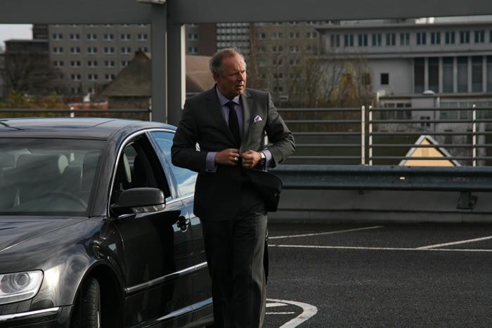 Axel Milberg in Offroad, nel 2012
