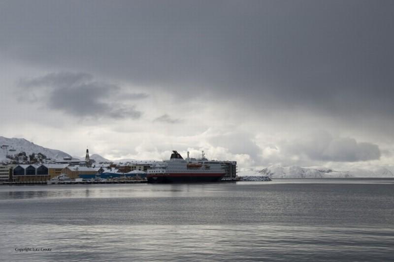 Gnade: l'inverno norvegese in una scena del film di Matthias Glasner