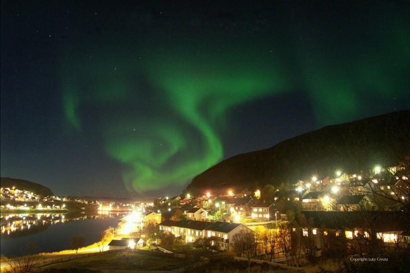 Gnade: una suggestiva immagine dell'aurora boreale catturata dal film