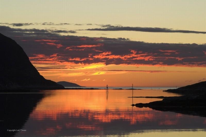Gnade: uno splendido tramonto polare tratto dal film