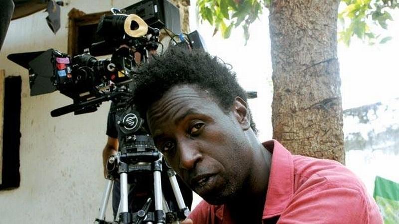 L'attore Saül Williams sul set del film Aujourd'hui