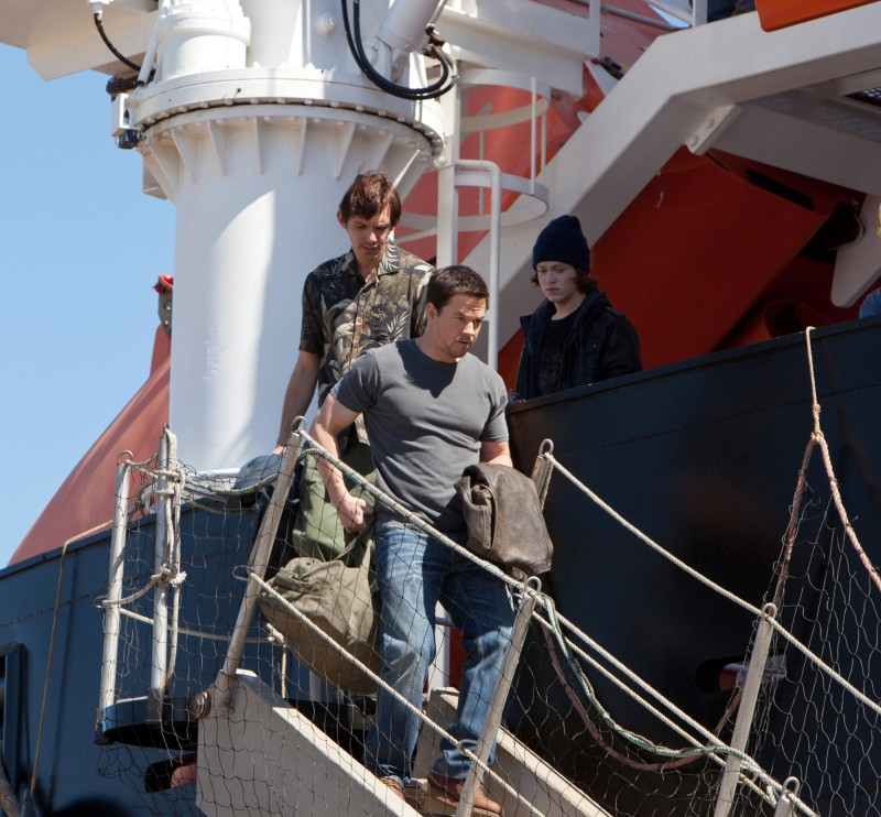 Mark Wahlberg e Lukas Haas in Contraband
