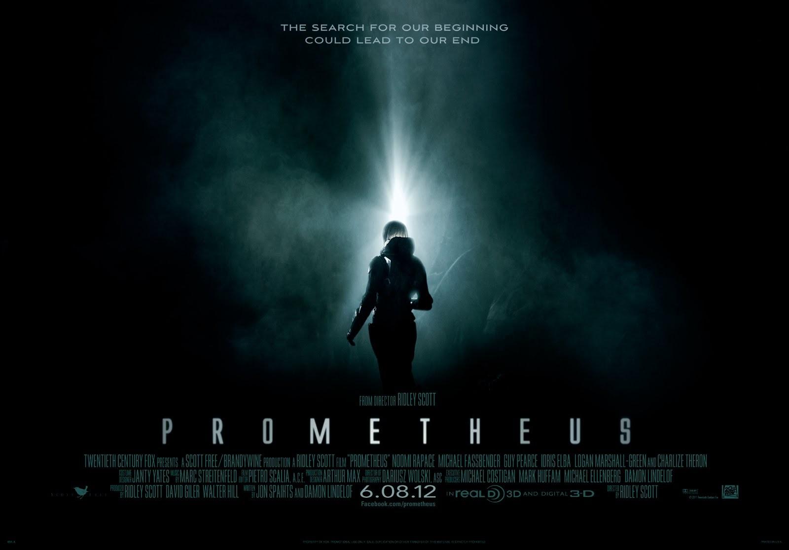 Prometheus: il primo wallpaper del film