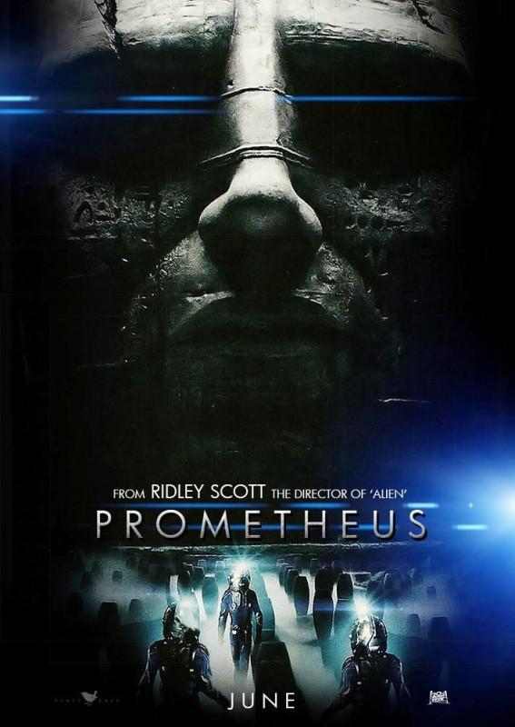 Prometheus: uno dei primi poster del film