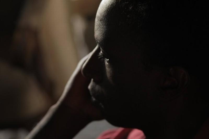 Saül Williams sul set del film Aujourd'hui