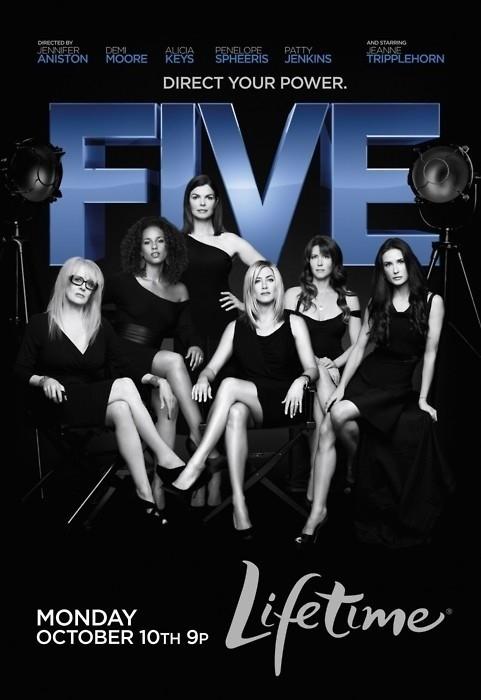 Five: la locandina del film