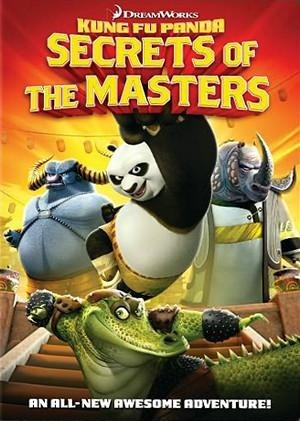 Kung Fu Panda: Secrets of the Masters: la locandina del film