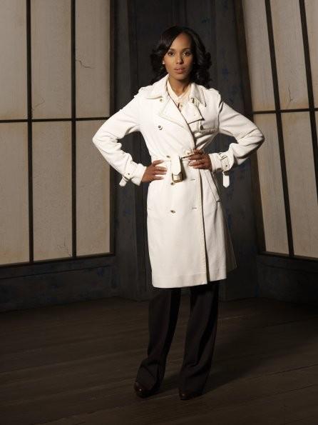 Scandal: Kerry Washington nel ruolo di Olivia Pope in una immagine promozionale della serie