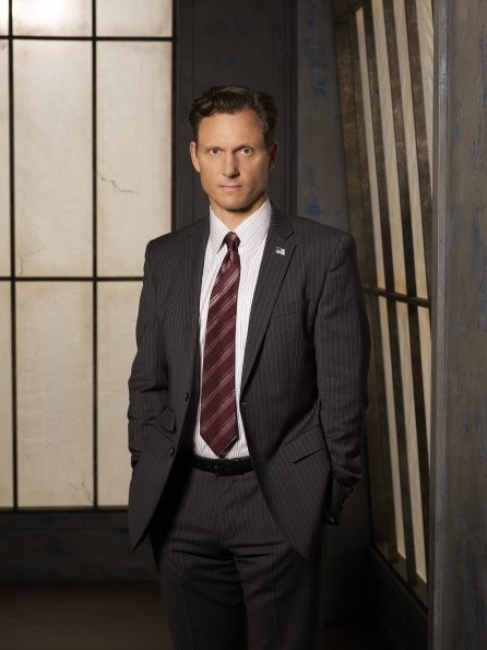 Scandal: Tony Goldwyn è il Presidente Fitzgerald Grant in una foto promozionale della serie