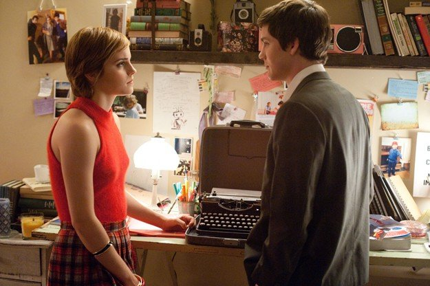 Una discussione tra Emma Watson e Logan Lerman in The Perks of Being a Wallflower