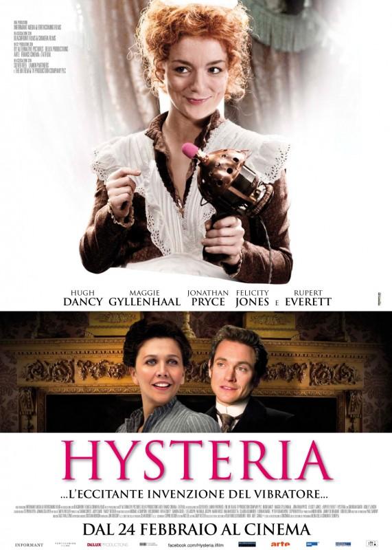 Hysteria: la locandina italiana del film
