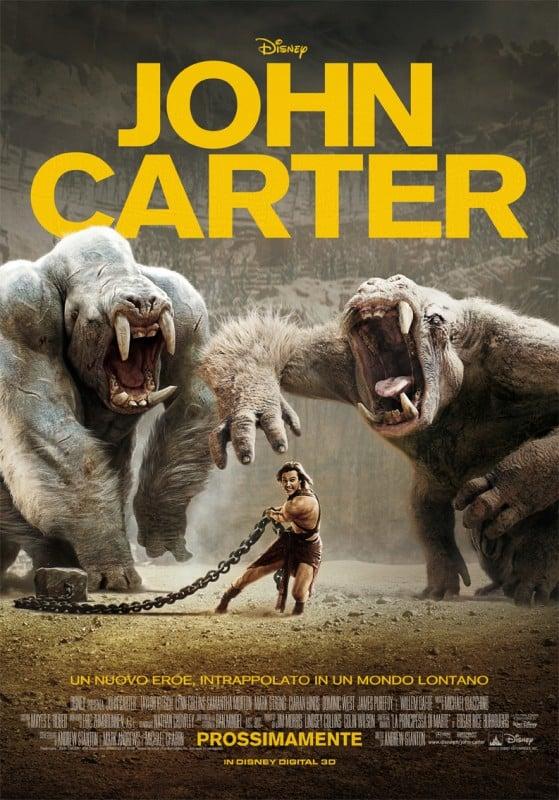 John Carter: una locandina italiana del film