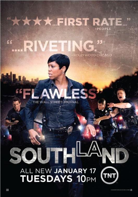 Southland: un poster della stagione 4