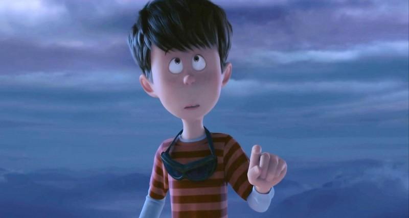 Ted, il ragazzino protagonista del film d'animazione Lorax - Il guardiano della foresta in una scena del film