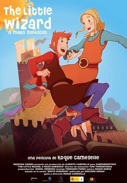 The Little Wizard. O Mago Dubidoso.: la locandina del film